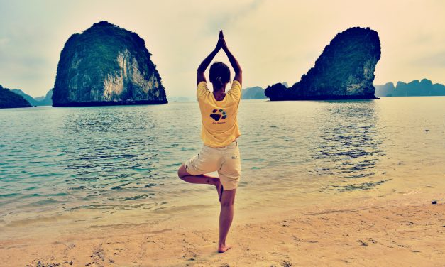 A month of yoga relieves depression and anxiety
