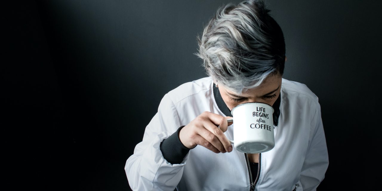 For better problem solving, have a cup of coffee